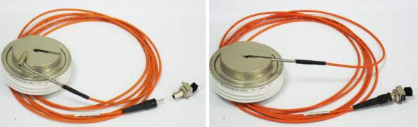 Фототиристор типа ТФ 353-630 с оптическим окном в катодном основании