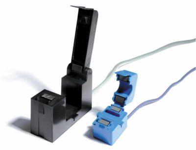Трансформатор тока с ферромагнитным разъемным сердечником (800 A) и с ферритовым разъемным сердечником (100 A)
