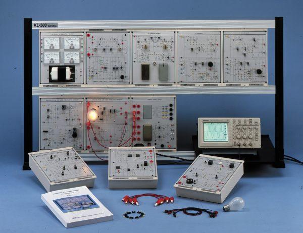 Стенд-тренажер «Силовая и промышленная электроника KL-500»