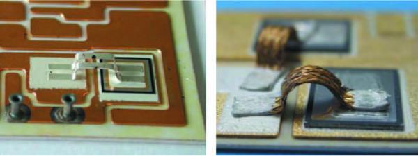 Спеченные серебряные полосковые выводы кристаллов и плетеные медные провода — замена традиционной технологии сварки алюминиевых проводников