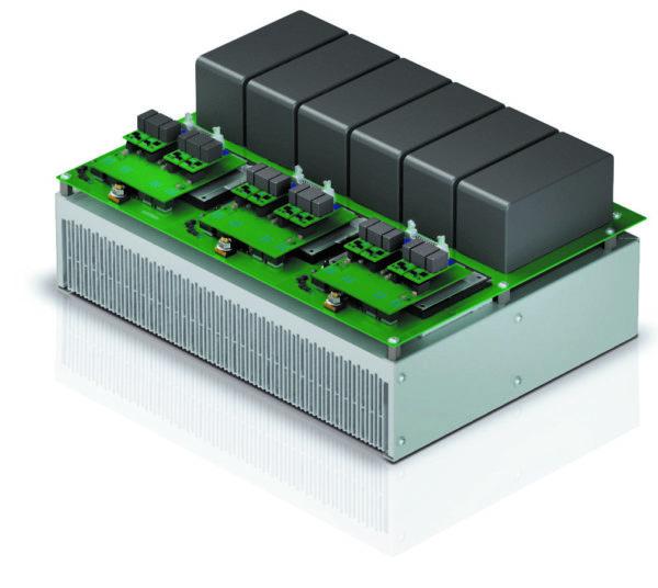 Трехфазный 3L-инвертор для солнечной энергетики с напряжением на DC-шине 1500 В. Измеренная эффективность — 99,3%