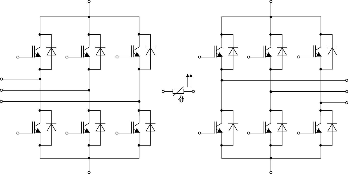 Модуль MiniSKiiP в конфигурации ACC Twin 6-pack