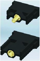 Разъем серии MOD, модуль ST-1PN-M и BU-1PN-M (гнездо)