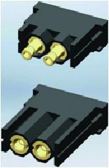 Разъем серии MOD, модуль ST-2PN-M и BU-2PN-M (гнездо)