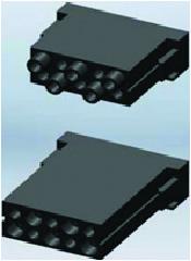 Разъем серии MOD, 10-полюсный модуль
