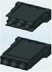 Разъем серии MOD, 3-полюсный модуль