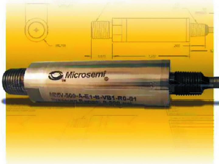 Высокотемпературные датчики давления Microsemi