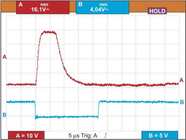 Мягкое выключение транзистора при обнаружении КЗ