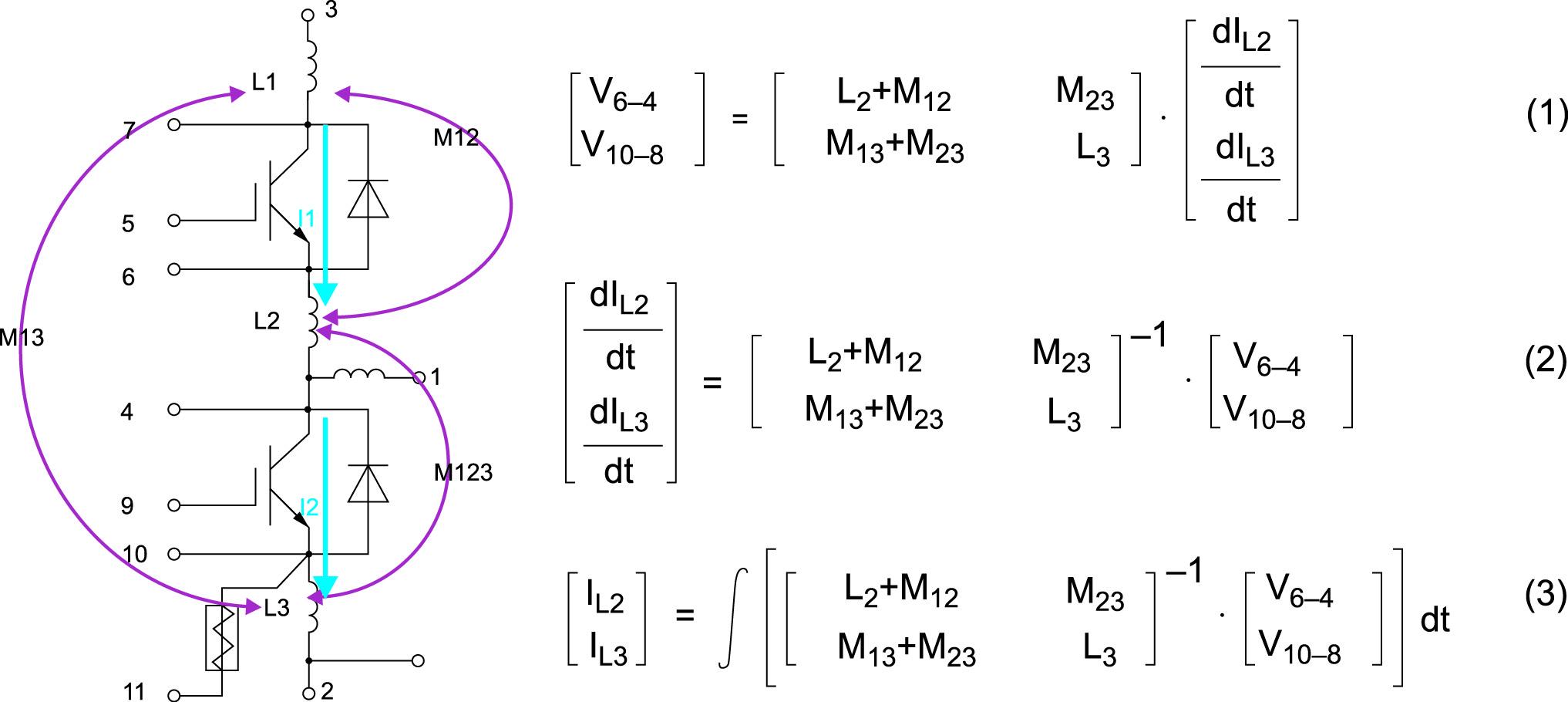 Топология схемы nHPD и предлагаемый алгоритм измерения тока