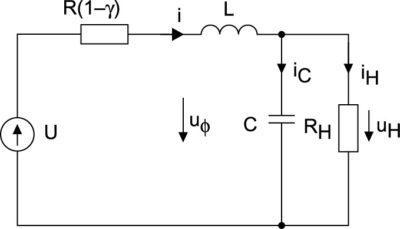 Непрерывная модель стабилизатора напряжения