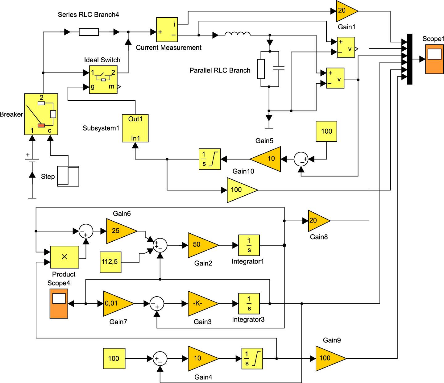Непрерывная и дискретная модели стабилизатора