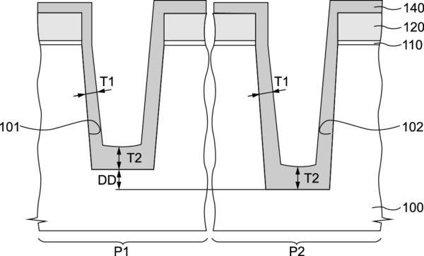 Новая технология изготовления Trench MOSFET (шаг 2)