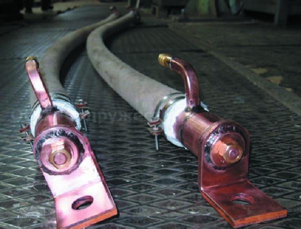 Водоохлаждаемые силовые кабели