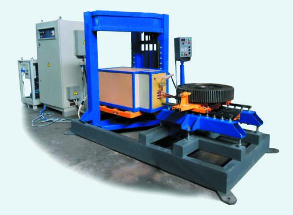 Индукционная установка «Петра» ТВЧ для поверхностной закалки крупномодульных зубчатых колес