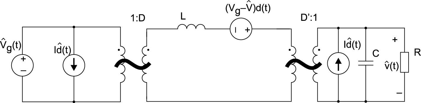 Объединенная эквивалентная трансформаторная схема малого сигнала