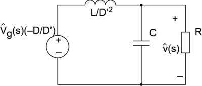 Расчетная схема по малому сигналу