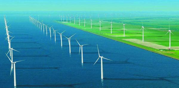 Windfarm Noordoostpolder