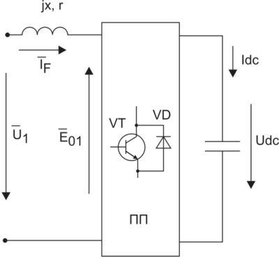 Функциональная схема АФ