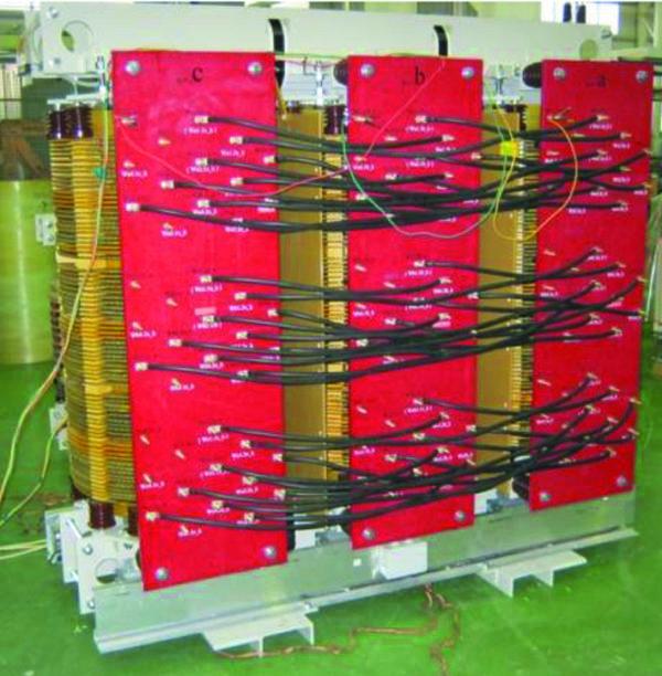 Многоуровневый трансформатор производства компании «Электрофизика» (С.-Петербург)