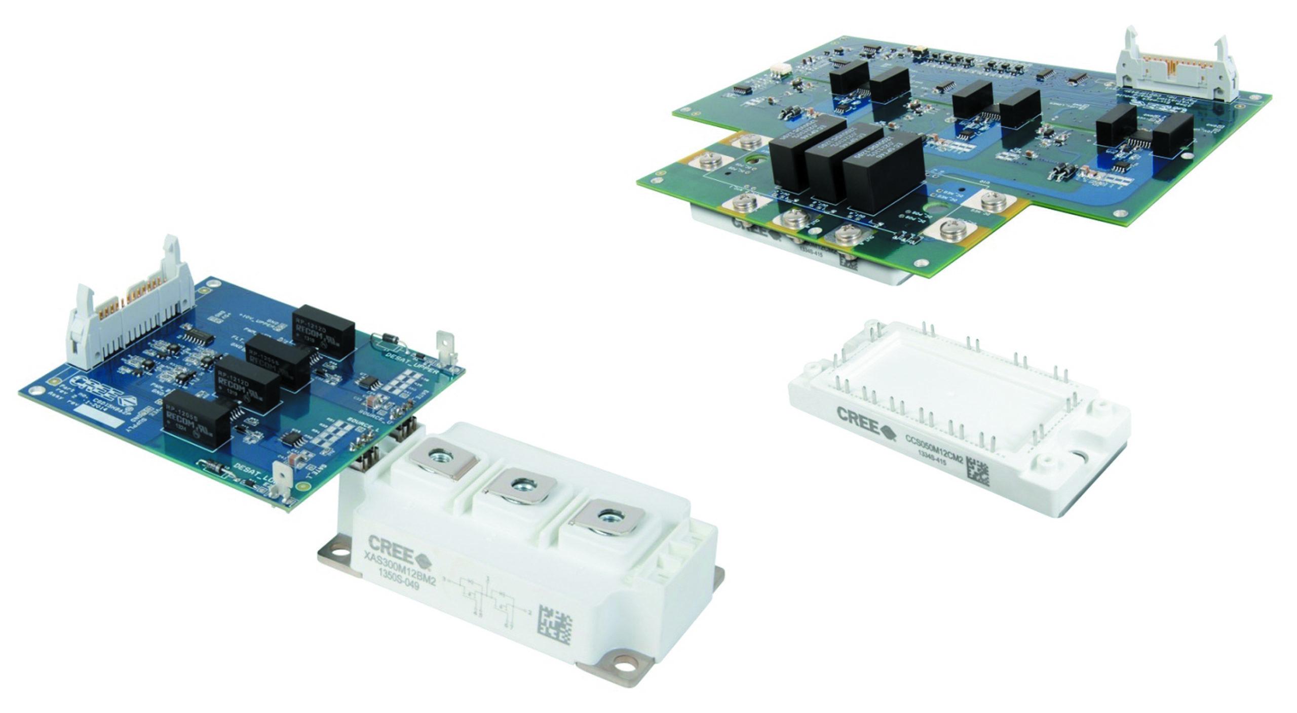 Мощные All-SiC модули 12-го и 17-го класса с драйверами затворов — реальная альтернатива IGBT