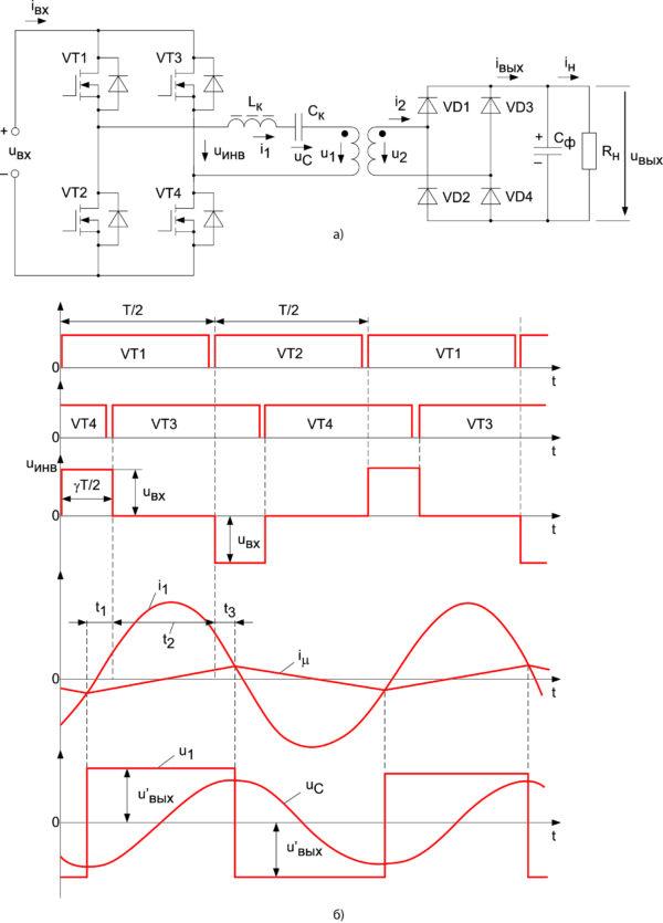 Схема силовой части ППН
