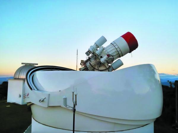 Станция наблюдения и регистрации космического мусора в обсерватории Пико дос Диас
