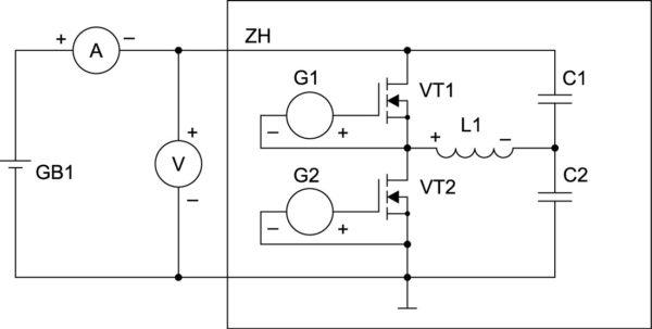Нелинейная нагрузка в цепи постоянного тока