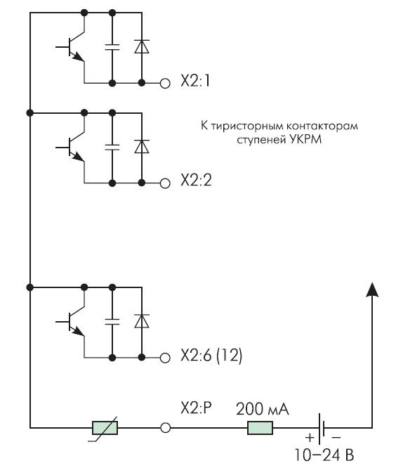 Блок-схема транзисторны); выходов регулятора РМ серии В R6000