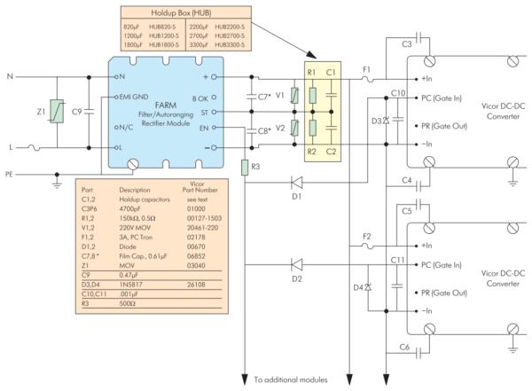 Типовая схема включения FARM (ARM)