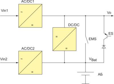 Предлагаемый вспомогательный преобразователь для применения на ж/д