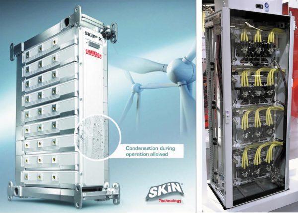 Модуль SKiiP-X, 4Q-инвертор 2×3,3 МВт на базе SKiiP X