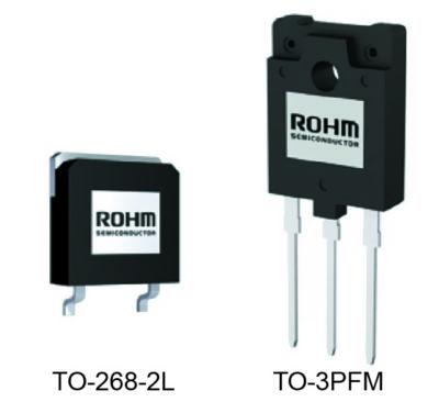 ROHM 1700-В SiC-MOSFET выпускаются в двух типах корпусов