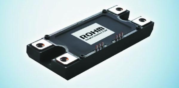 Новый 100% SiС-модуль на основе Trench-технологии ROHM