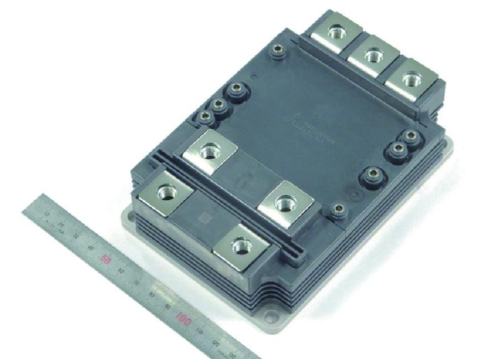 Full SiC-модуль напряжением 3,3 кВ с номинальным током 750 А в новом корпусе LV100