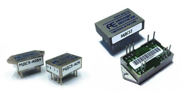 Внешний вид модулей серии МДС