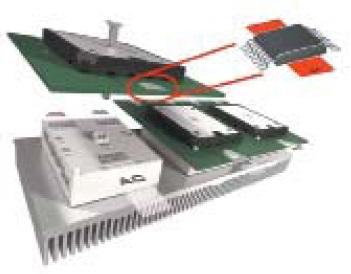 Миниатюрный модуль MiniSKiiP GB и SMD токовый шунт на200 А
