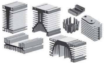 Примеры теплоотводов длядискретных компонентов