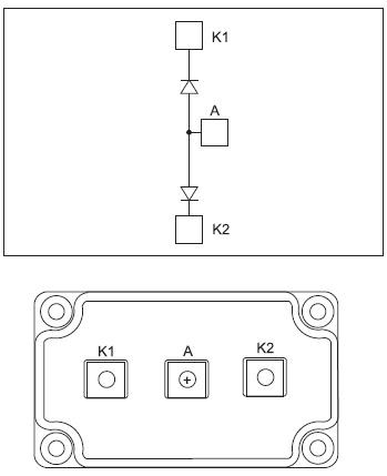 Модули серии APTDF400AA/AK/KKxxxG