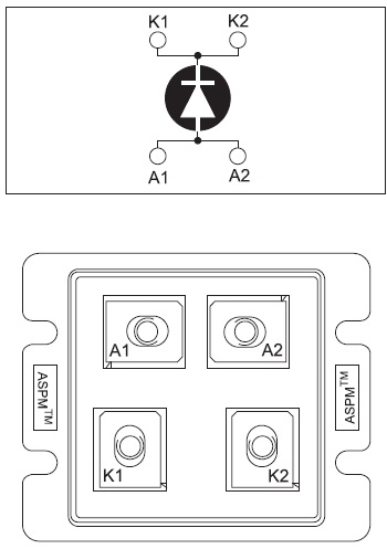 Модули в корпусах LP4