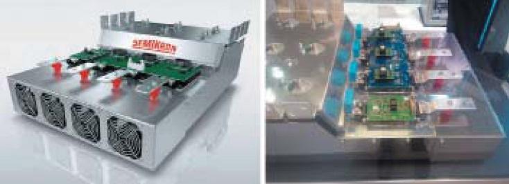 Трехфазный инвертор 150 кВт без внешних датчиков тока