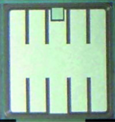 Фотография IGBT, изготовленного по технологии тонких пластин Punch-Through