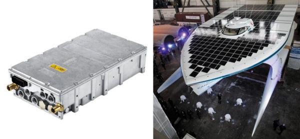 Модуль SKAI 2HV использован в приводе «солнечного катамарана» Tûranor, совершившего кругосветное путешествие