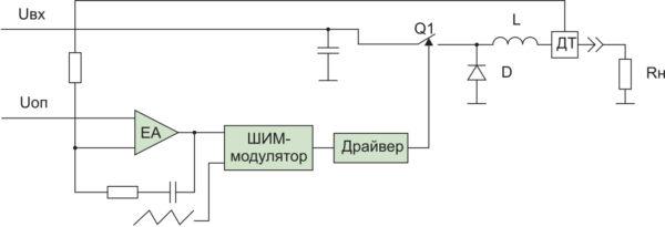 Импульсный источник тока