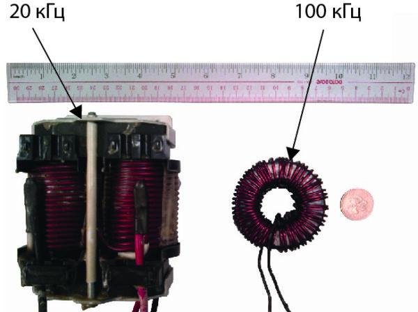 Дроссель 5 кВт на частотах