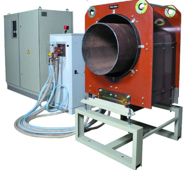 Индукционная установка «Петра-ИНТ» для нагрева трубы большого диаметра