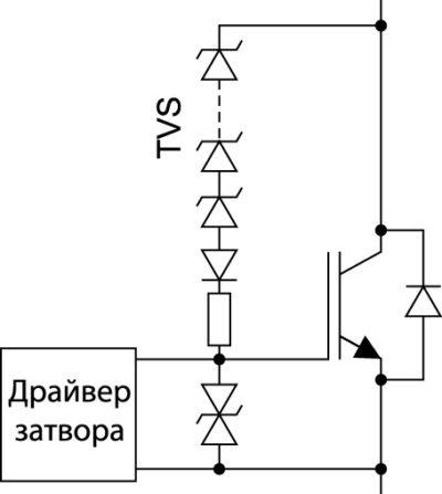 Упрощенная схема активного ограничения