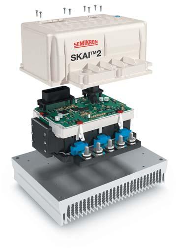 Интеллектуальный модуль привода вильчатого погрузчика SKAI2