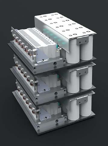Макет инвертора мощностью 2МВт набазе шестиэлементных модулей четвертого поколения SKiiP 3614GB17E4