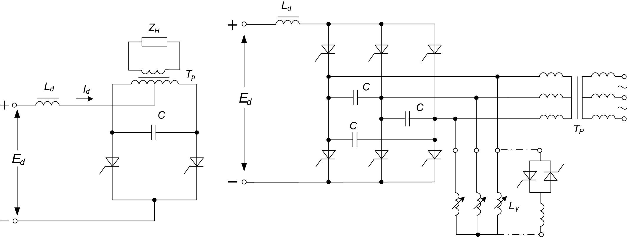 Схемы параллельных инверторов
