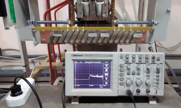 Исследование электромагнитных процессов в снабберных элементах IGBT-модулей